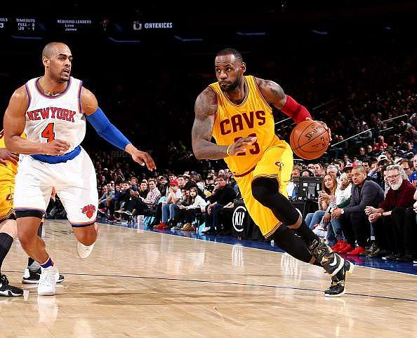 NBA Saturday round-up: LeBron James records triple double in Cavs win, OKC win big against depleted Spurs