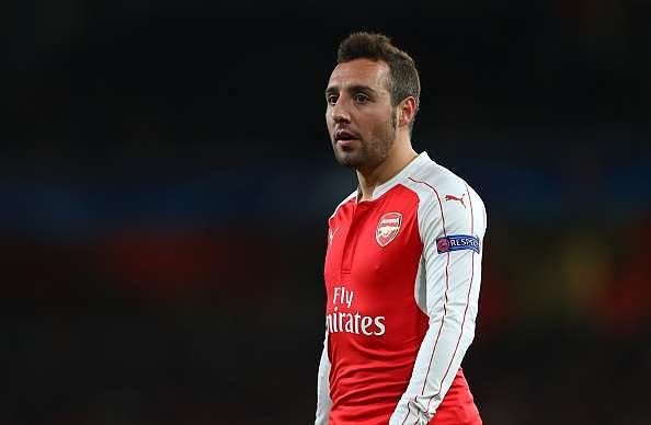 Arsenal dealt injury blow after Santi Cazorla and Jack Wilshere suffer setbacks
