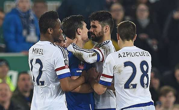 Fake FB Wall: Diego Costa reacts after allegations of biting Gareth Barry in FA Cup tie