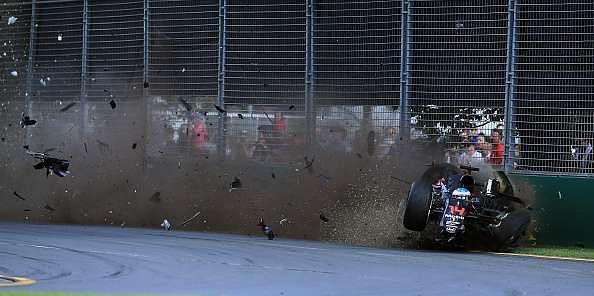 Australian GP: Fernando Alonso's crash puts focus back on 'halo'