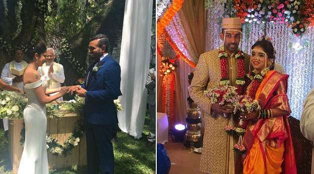 Robin Uthappa gets married to former tennis player Sheethal Goutham