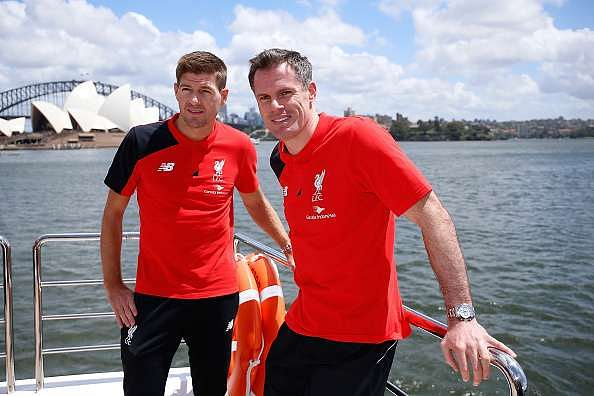 Steven Gerrard is up for a coaching job at Anfield with Jamie Carragher