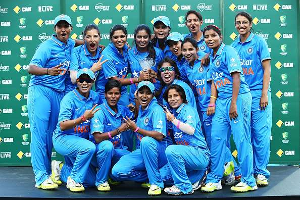 Indian Women's cricket team climbs two spots in standings
