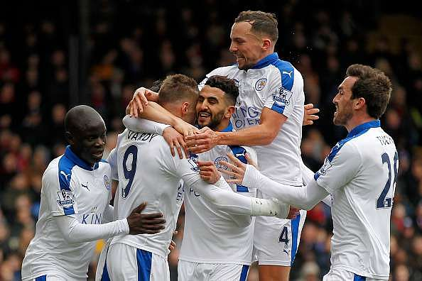 Leicester City EPL title points to win table 2015-16