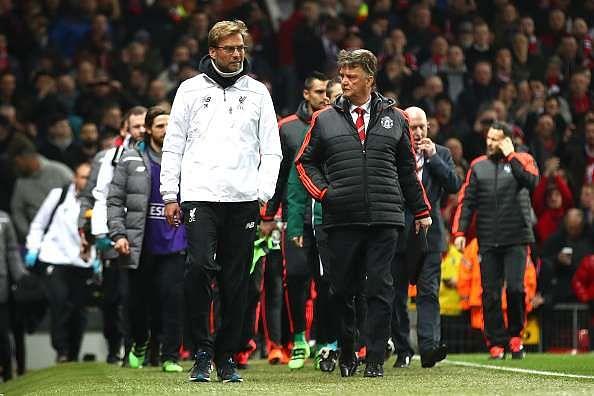 Man Utd Liverpool Top 4