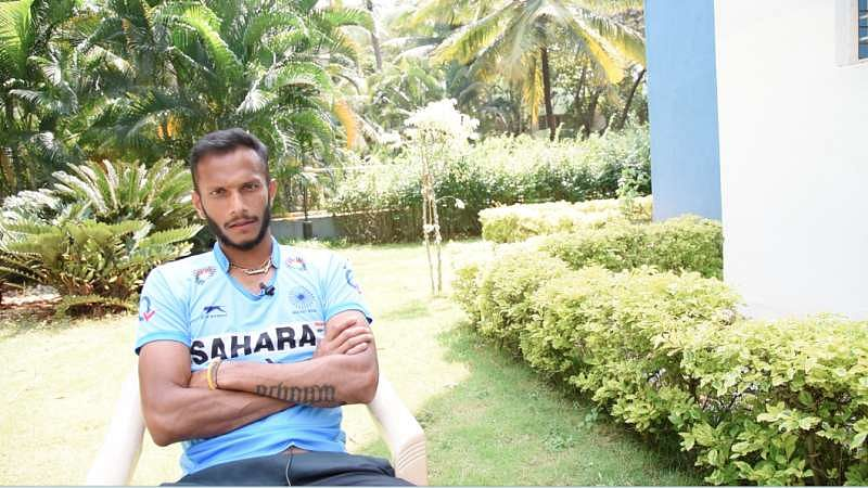 Indian hockey team vice-captain SV Sunil honoured to be nominated for the Dhanraj Pillay Forward of the Year award