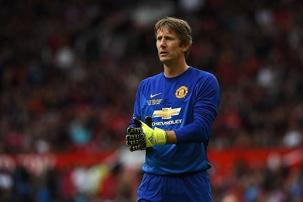 Edwin Van Der Sar picks his six-a-side team featuring two Manchester United players