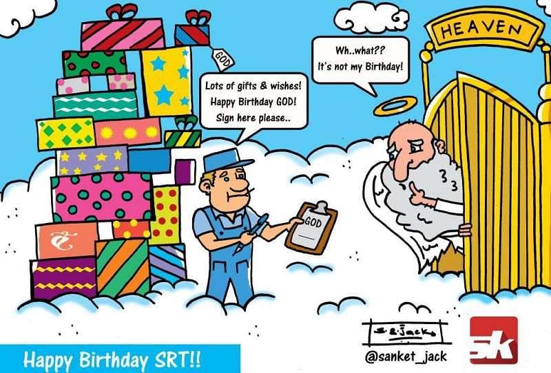 Comic: Happy Birthday SRT!