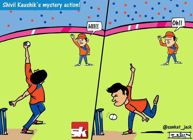 Comic: Shivil Kaushik's mystery action