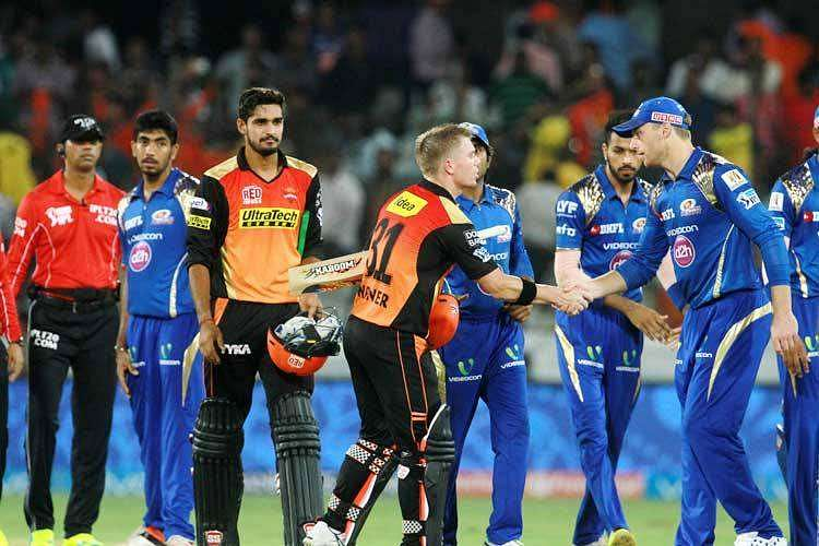 IPL 2016, Stats: Warner's brilliant knock helps Sunrisers defeat Mumbai Indians by 7 wickets