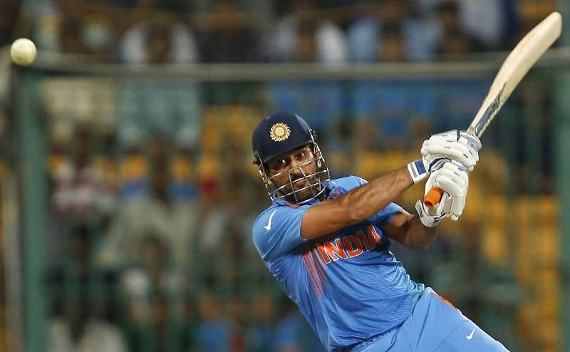Dhoni far from shy and retiring when quizzed over future