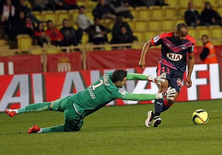 Monaco suffer to 2-1 loss at home to Bordeaux