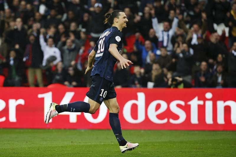 Ibrahimovic stars as PSG thrash Nice