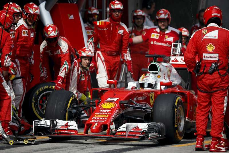 Chinese GP: Kimi Raikkonen and Sebastian Vettel's collision adds to Ferrari's frustration