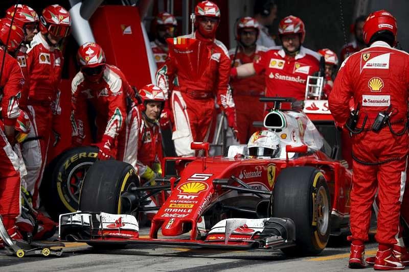 Chinese GP: Kimi Raikkonen and Sebastian Vettel's collision adds to Ferrari's frustration