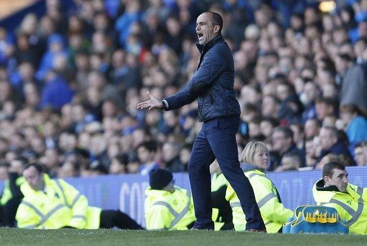 No plans to rest Everton players for Merseyside derby - Martinez