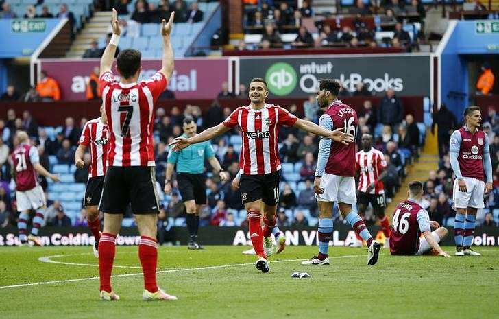 Southampton hand relegated Villa 10th league defeat in row
