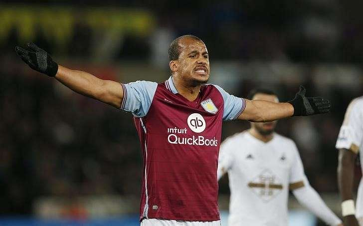 Agbonlahor quits as Villa captain, fined by club