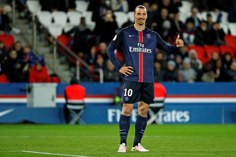 Ibrahimovic leads PSG to 4-0 rout of Rennes with double