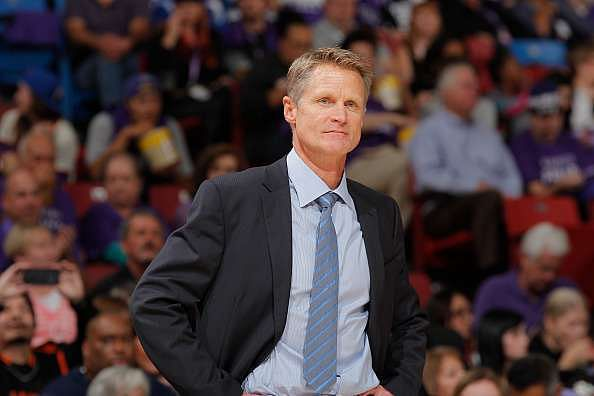 Warriors' Head Coach Steve Kerr wins 2015-16 KIA NBA Coach of the Year Award
