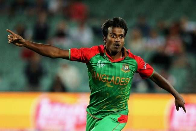 Rubel Hossain claims to have invented a new delivery, the 'Butterfly'