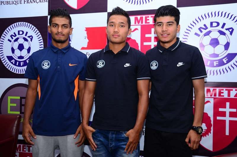Three Indian U-19 players to train with French Club FC Metz