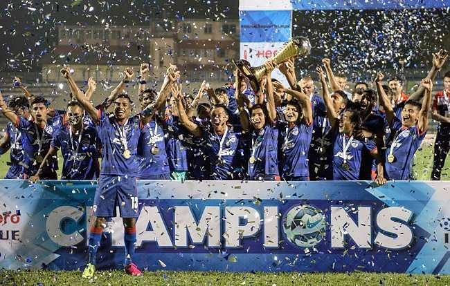 I-League: Bengaluru FC crowned champions after second-string side lose to Mohun Bagan in final game