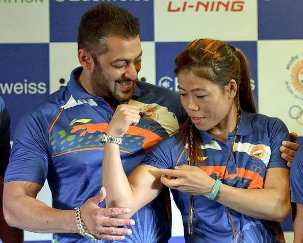 Rio Olympics 2016: Salman Khan feels Mary Kom brings winning attitude to all her work