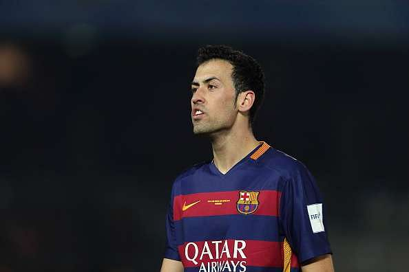 Sergio Busquets will cost Manchester United approximately £128 million