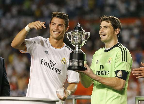 Iker Casillas picks his all-time greatest Real Madrid XI