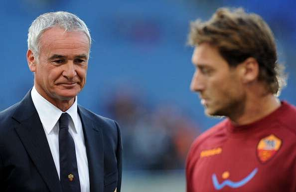 Claudio Ranieri rubbishes reports of Francesco Totti moving to Leicester City