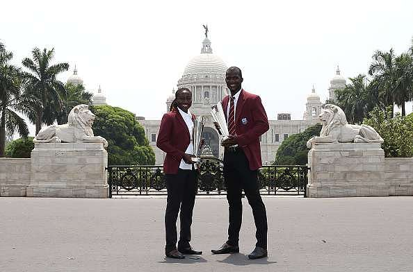 Video: Fans go crazy as Darren Sammy and Johnson Charles return home