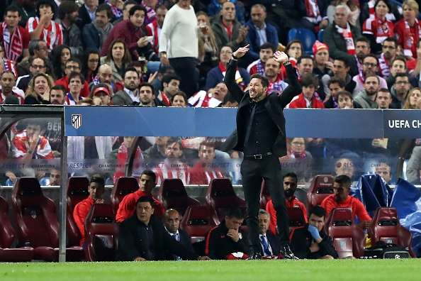 Diego Simeone believes Atletico Madrid were closest to their best version in win over Bayern Munich