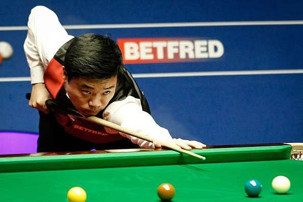 World Snooker Championship: Ding Junhui equals century record for semi-final lead