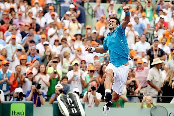Novak Djokovic wins 2016 Miami Open; goes past Rafael Nadal for the most number of Masters titles won