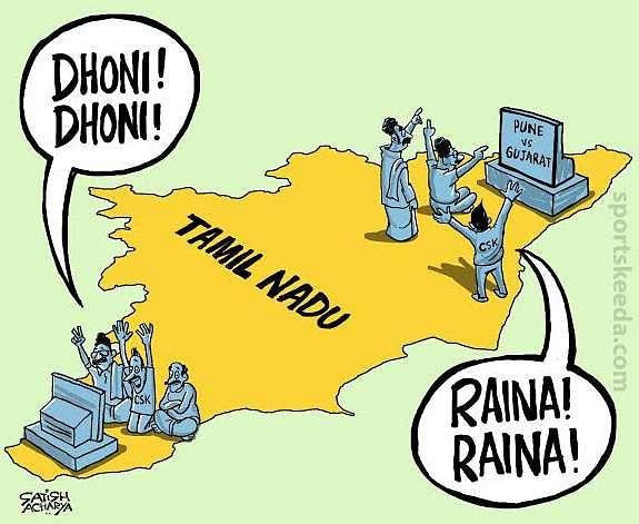 Comic: IPL divides Tamil Nadu