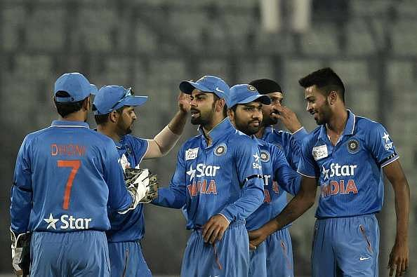 Why are Indian Cricket Team, Hockey Team and other sport jerseys blue in colour?