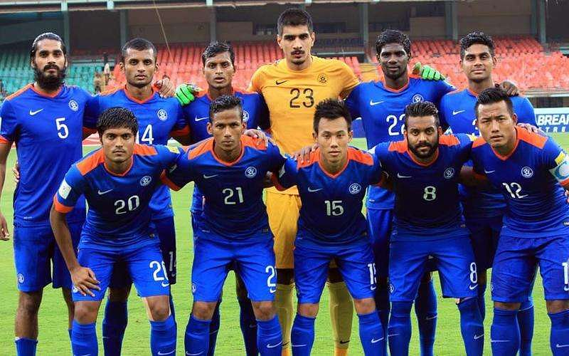 FIFA rankings: India drop a couple of places to 162