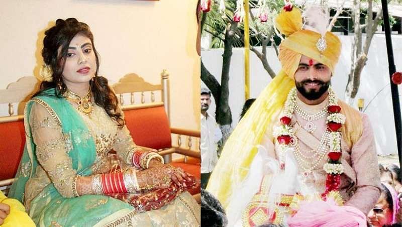 Ravindra Jadeja weds Riva Solanki: 10 best Images