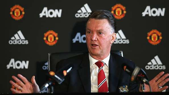 Manchester United boss Louis van Gaal has no idea how many league titles his players have won