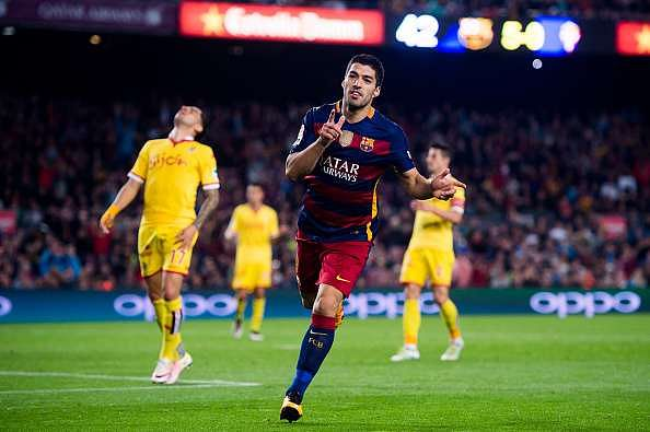 Twitter reacts to Luis Suarez's four goals for Barcelona