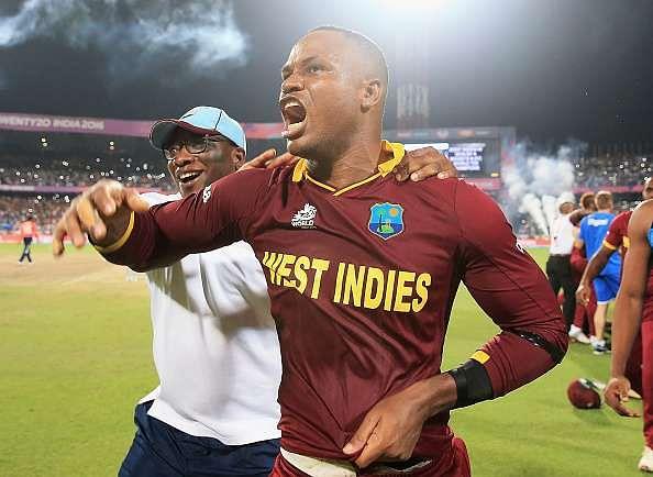 Andre Russell criticises Marlon Samuels' behaviour following ICC World T20 triumph
