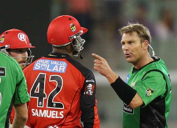 Recapping the feud between Shane Warne and Marlon Samuels