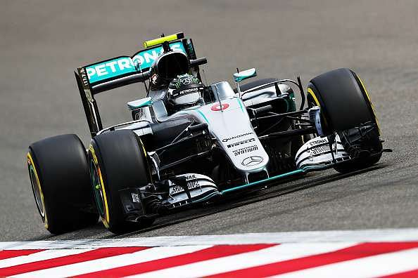 Chinese GP: Nico Rosberg heads timing charts after first practice