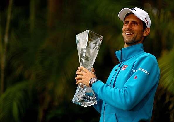 ATP rankings: Novak Djokovic still in the lead after Miami triumph