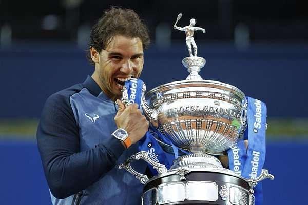 Nadal wins 9th Barcelona title, equals Vilas' Open Era clay record