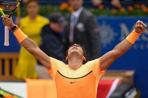 Rafael Nadal pleased that hard work is showing in results