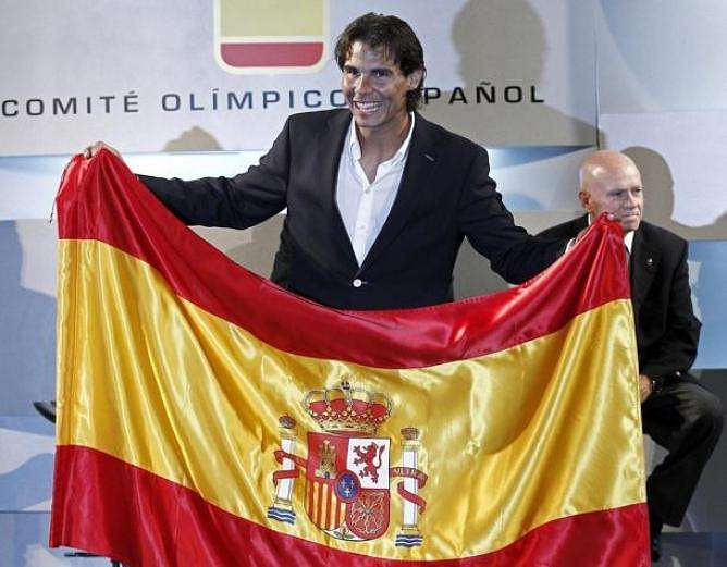 Rio Olympics 2016: Rafael Nadal gets a second chance to be Spain's Olympic flag bearer