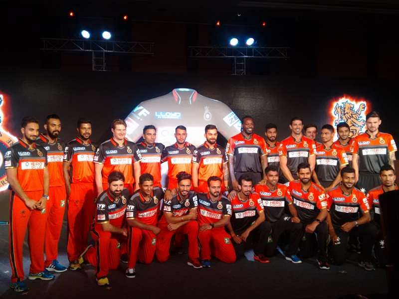 Royal Challengers Bangalore unveil new IPL 2016 jersey