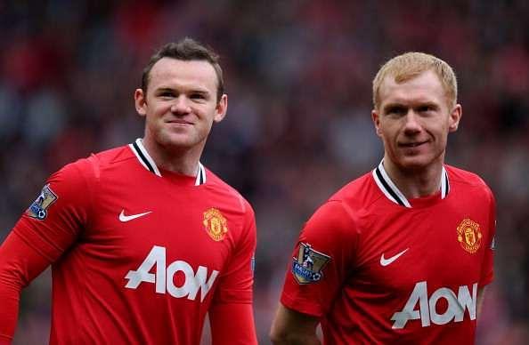 Paul Scholes is Wayne Rooney's midfield inspiration